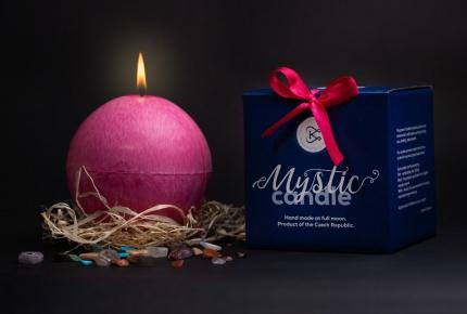 Mystic Barbara Kočková spiritual candle (pink)