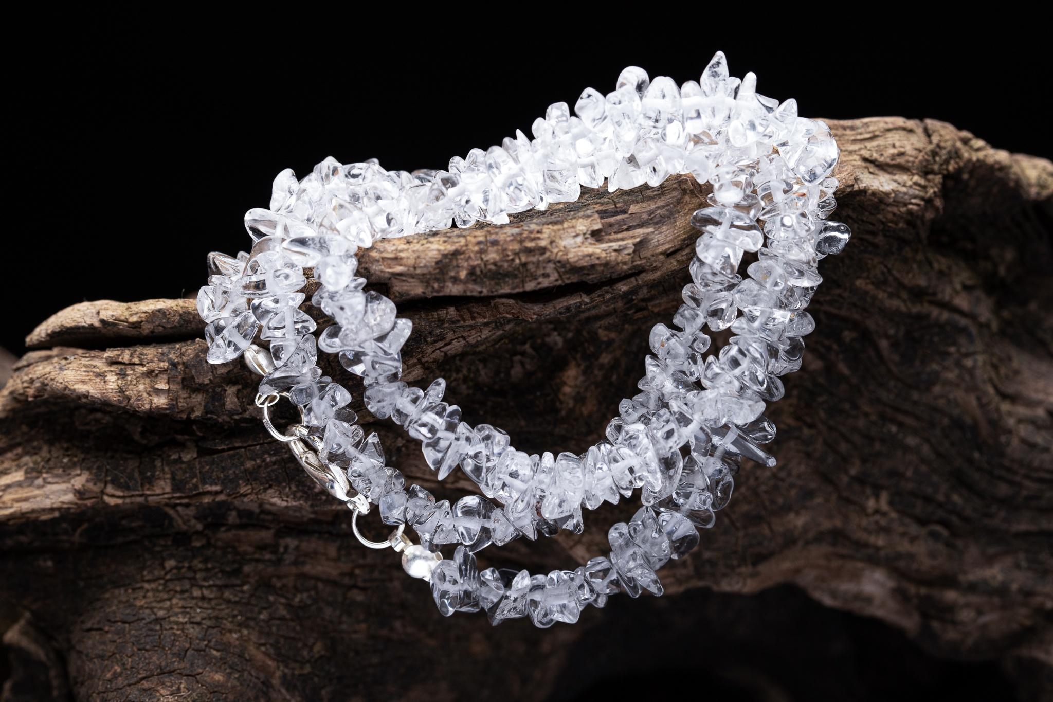 Křišťálový náhrdelník